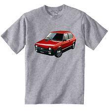 Fiat Ritmo 125TC ABARTH Inspiré-Neuf coton gris T-Shirt-Toutes les tailles en stock
