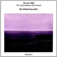 THE HILLIARD ENSEMBLE - THE LAMENTATIONS OF JEREMIAH  CD NEU