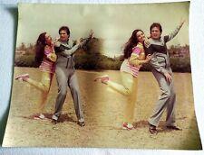 Rare Vintage Bollywood Poster - Rajesh Khanna - REKHA - 22 inch X 18 inch