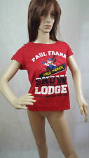 Paul Frank womens red t-shirt, size S, 10-12 uk