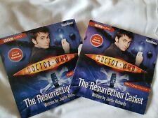 2 Audio CD sets Doctor Who. The Resurrection Casket, Parts 1 & 2,  David Tennant