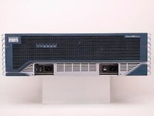 Cisco 3800 Series 3845-MB Router HWic3,HWic-IGE-SFP, Dual Power Supply