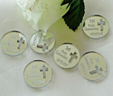 Personalised First Holy Communion 'Coins' x 30 Gift Momento Keepsake Souvenirs