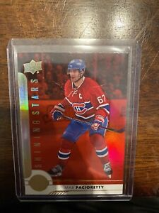 2017-18 UD Hockey Series 1 Shining Stars Red SSL-8 Max Pacioretty SSP!
