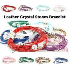 Modeschmuck-Armbänder aus Stein mit Kristall für Damen