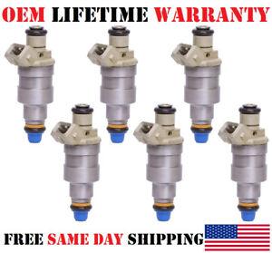 6/unit Fuel Injectors for 1986-1987-1988 Oldsmobile Delta 88 3.8L V6 OEM Bosch