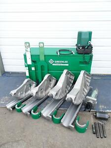 Greenlee 881CT Cam Track 2 1/2 to 4 EMT IMC RIGID Conduit Pipe Bender 980 Pump