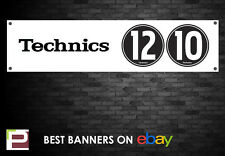 TECHNICS 1210 Banner, per studio, garage, negozi, club, 1210 Turn Table ecc.