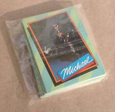 Michael Jackson Topps Trading Cards Series 1 from 1984, Complete Collectors' Set