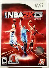 NBA 2K13 (Nintendo Wii, 2012) Wii - Tested - Working