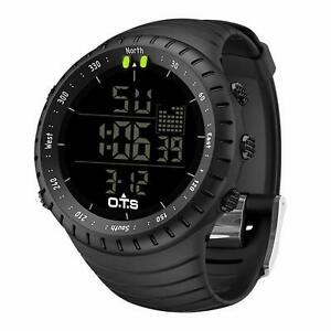 PALADA Men's Digital Sports Watch Waterproof Tactical with LED Backlight for Men