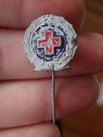 Vintage Red Cross Pins Badge  2/-  (Bag 2)