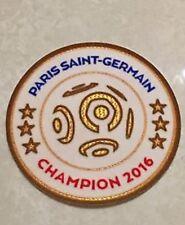 2016-2017 Ligue 1 Paris Saint-Germain Champion Patch Badge Pièce Flicken Parche