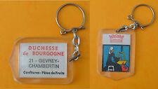Porte-clé années 1960, Confitures Duchesse de Bourgogne, Gevrey-Chambertin