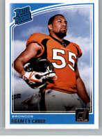 2018 Donruss #319 Bradley Chubb RC Rookie Broncos