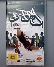 B-Boy Sony PSP Game (Very Good) Bboy B Boy Video Game