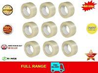 6 Strong Crossweave Cross weave 50mm x 50m Reinforced Parcel Tape
