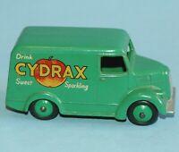 vintage Dinky Toys MECCANO England original 1957 TROJAN VAN CYDRAX #454