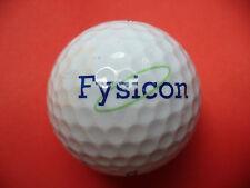 Pelota de golf con logo-fysicon-golf logotipo pelota como recuerdo regalo......