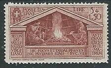 1930 REGNO VIRGILIO 5 LIRE MH * - Y063-7