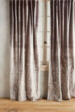 """NEW Curtains Anthropologie Embroidered Marrakech Panel 42"""" X 108"""" Curtain Yellow"""