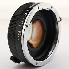 Zhongyi Focal Reducer Lens Turbo II Booster Canon EOS für Sony E Adapter NEX-7