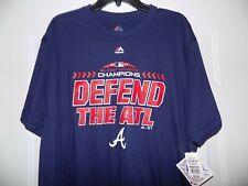 ATLANTA BRAVES DEFEND THE ATL MLB Major League Baseball XL Shirt NEW WITH TAGS