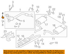 FORD OEM 15-18 Mustang 2.3L-L4 Exhaust-Catalytic Cnvrtr Gasket FR3Z5C226A