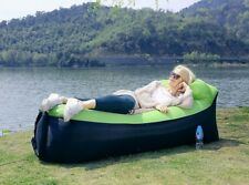 Chaise longue gonflable portable Air Bag Air Lits Chambre Canapé, pour Voyage,