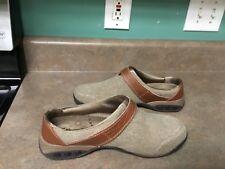 Therafit Women's Austin Brown Clogs Shoes Size 9.5 (CON14)