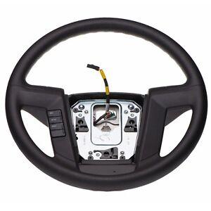 2011-2014 Ford F-150 Lincoln Mark LT Gray Steering Wheel OEM BL3Z-3600-AB