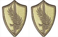 2 Pack U.S. Army Central Command (CENTCOM) OCP Hook Military Patches