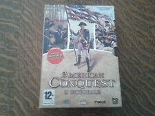 jeu pc 3 jeux complets american conquest l'integrale