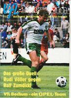 BL 86/87 VfL Bochum - SV Werder Bremen