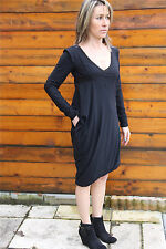 dress robe superposée MARITHE FRANCOIS GIRBAUD wrapperess T 38   NEUVE ÉTIQUETTE