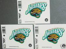 NFL Window Clings (3), Jacksonville Jaguars, NEW