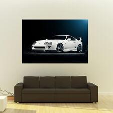 Poster of Toyota TT Supra MKIV 2JZ-GTE Giant HD Huge 54x36 Inch Print 137x91 cm