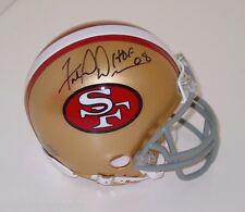 FRED DEAN Signed/Autographed SAN FRANCISCO 49ers TB Mini Helmet HOF w/COA