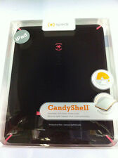 Speck CandyShell Hard Shell Snap Cover Case for iPad 1 1st Gen (Black/Pink)