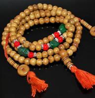 Mala Tibetano Perle Turchese Reconstituee Ø8 MM 9665 CA18