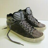 ADIDAS Vintage Retro High Top trainers Grey g20636 Size UK 10 / US 10.5 /EU 44.3