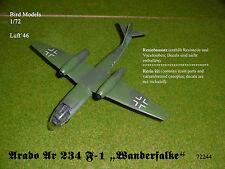 "Arado Ar 234 F-1 ""Wanderfalke"" 1/72 Bird Models Resinbausatz / resin kit"