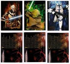 2005 STAR WARS REVENGE OF THE SITH Exclusive Blister Pack Bonus Cards