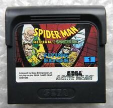 SPIDER MAN RETURN OF THE SINISTER SIX SEGA GAME GAME GEAR CARTUCCIA GIOCO