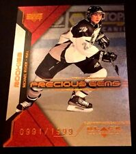 MICHAEL RYDER 2000-01 UD Black Diamond ROOKIE Precious GEMS Card #75 Ser # /1999