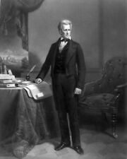 Brady 1845 First and Only Andrew Jackson PHOTO 1st Portrait 7th US President