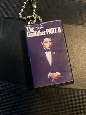 The Godfather Part 2 Vhs Blu Ray classic Keychain