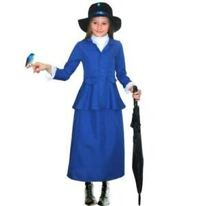 World Book Day//Victorian//Steampunk NANNY MCPHEE Fancy Dress Costume ALL AGES