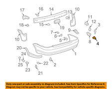 TOYOTA OEM 00-05 Echo Rear Bumper-Bumper Cover U-nut 5257952010