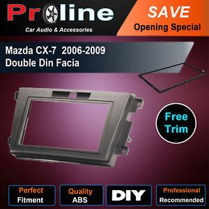 MAZDA CX7 2006-2009 ER DOUBLE 2 DIN stereo radio facia Fascia Dash kit Panel